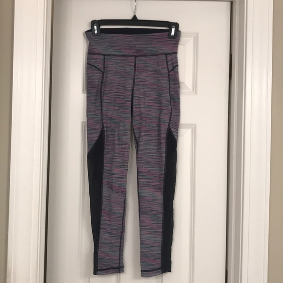 Sweaty Betty Pants - Sweaty Betty Crop Reversible Leggings XS